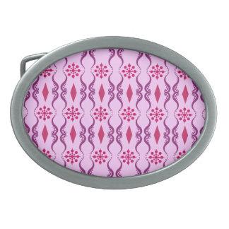 装飾用のインドは縞で飾ります 卵形バックル