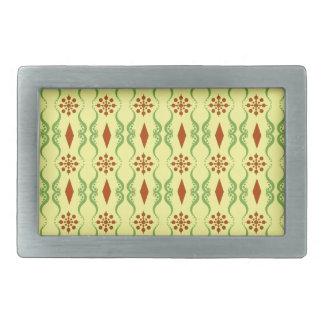 装飾用のインドは縞で飾ります 長方形ベルトバックル