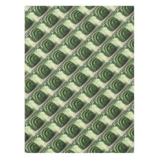装飾用の装飾刈り込み法の緑の庭かたつむりの薮 テーブルクロス
