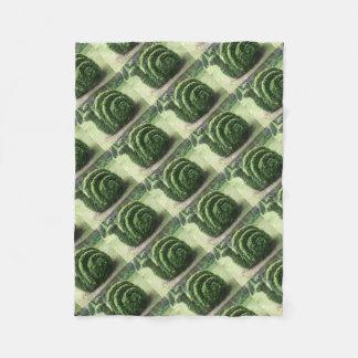 装飾用の装飾刈り込み法の緑の庭かたつむりの薮 フリースブランケット