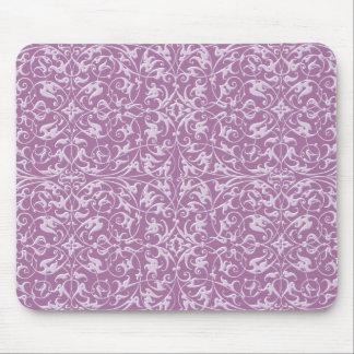 装飾用パターン紫色 マウスパッド
