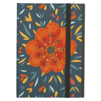 装飾的でお洒落なオレンジ花
