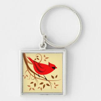 装飾的で赤く基本的なギフト キーホルダー