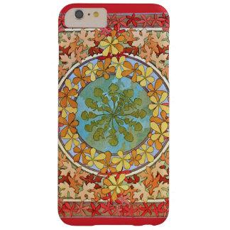 装飾的なアールヌーボーの葉パターン BARELY THERE iPhone 6 PLUS ケース