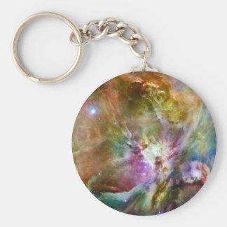 装飾的なオリオンの星雲の銀河系の宇宙の写真 キーホルダー