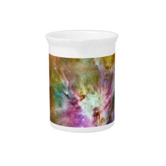 装飾的なオリオンの星雲の銀河系の宇宙の写真 ピッチャー