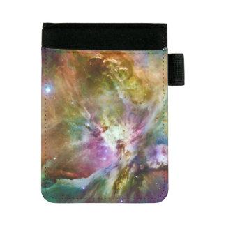 装飾的なオリオンの星雲の銀河系の宇宙の写真 ミニパッドフォリオ