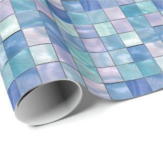 装飾的なタイル2の包装紙 ラッピングペーパー