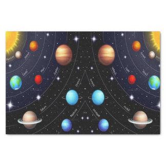 装飾的なティッシュペーパーの宇宙の宇宙 薄葉紙