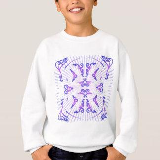 装飾的なパターン: ベクトルスケッチ: スウェットシャツ