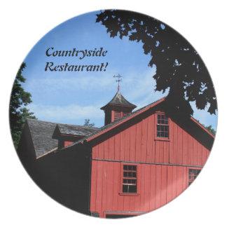 装飾的なプレートの田舎デザインは、カスタマイズ プレート