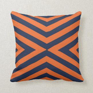 装飾的な投球の枕クラシックのオレンジ クッション