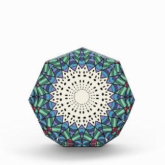 装飾的な抽象デザイン 表彰盾