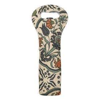 装飾的な花のペルシャのタイルのデザイン ワイントート