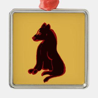 装飾的な記念品のオーナメントの野生動物の芸術のギフト メタルオーナメント