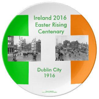 装飾的磁器プレートのための1916人のアイルランド人のイメージ 磁器プレート