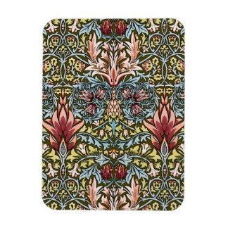 装飾者の花模様の壁紙パターンヴィンテージの上品 マグネット
