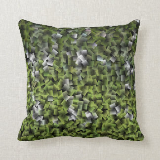 装飾-明るいオリーブ色の枕 クッション