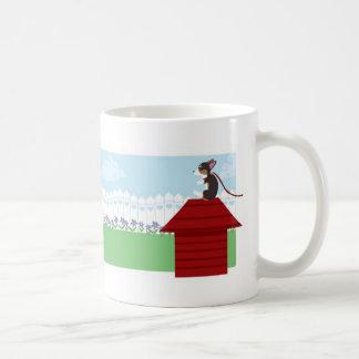 裏庭のおもしろいの時間 コーヒーマグカップ