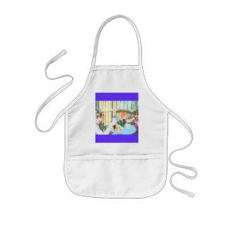 裏庭の相棒#7の料理のエプロン子供のギフト 子供用エプロン