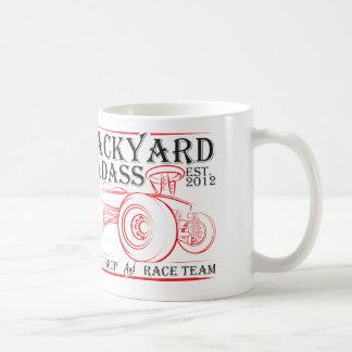 裏庭のBadassの速度の店 コーヒーマグカップ