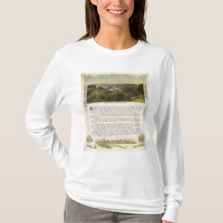 裏面Alameda郡、オークランドおよび湾 Tシャツ