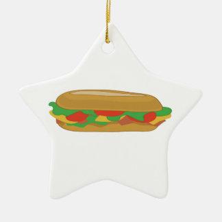 補助的なサンドイッチ セラミックオーナメント
