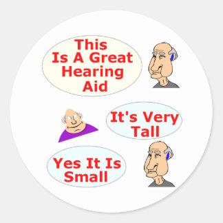 補聴器の質 ラウンドシール