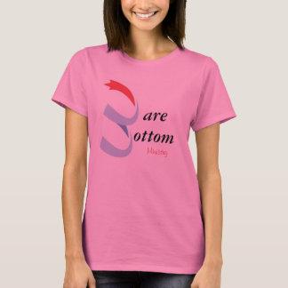 裸の最下のTシャツ Tシャツ