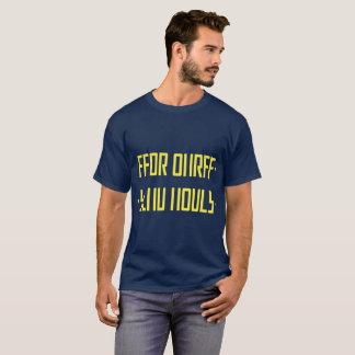 裸体の/hiddenメッセージを送って下さい tシャツ