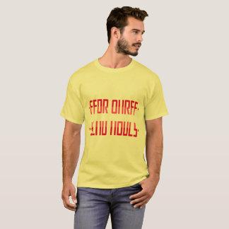裸体/秘密メッセージを送って下さい Tシャツ