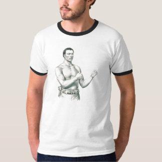 裸指の関節のボクサーのジョンC. Heenan Retroのチャンピオン! Tシャツ