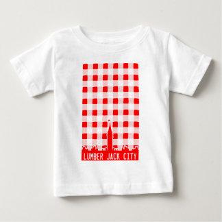 製材ジャック都市 ベビーTシャツ