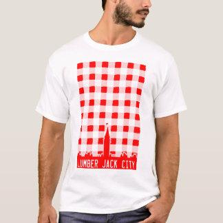 製材ジャック都市 Tシャツ