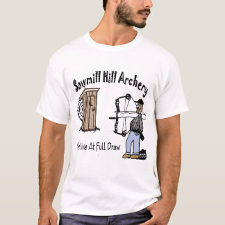 製材所の丘のアーチェリー Tシャツ