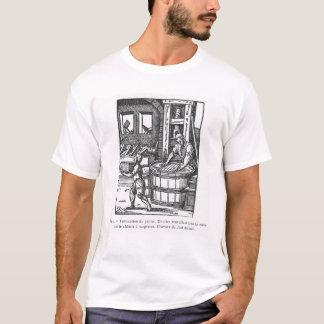 製紙業者 Tシャツ