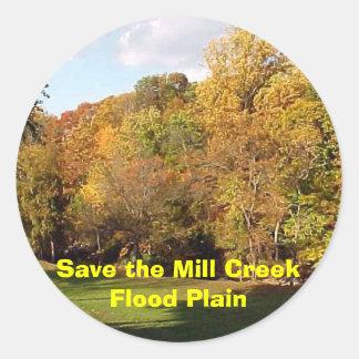 製造所の入り江のはんらん原の秋を救って下さい ラウンドシール