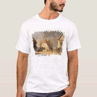 「製造所の女中」からの場面、1765年(油 Tシャツ