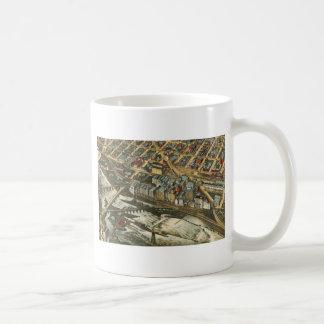 製造所地区、ミネアポリス1895年 コーヒーマグカップ