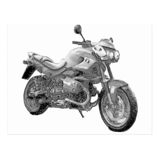 (複数の商品が選択されています)オートバイ ポストカード