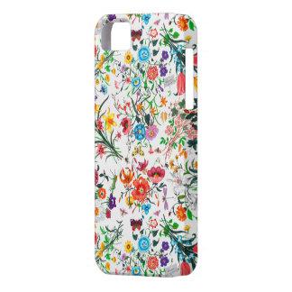 複雑で鮮やかな花のiPhoneの場合 iPhone SE/5/5s ケース