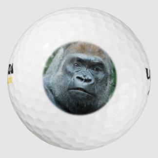 複雑なゴリラ ゴルフボール