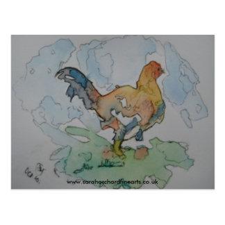 複雑なシリーズ- 「農場」2010年、WWWの鶏… ポストカード