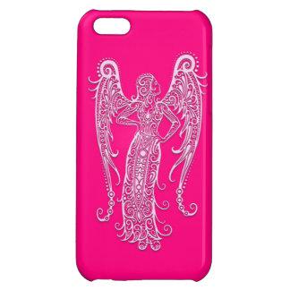 複雑なピンクの《星座》乙女座の(占星術の)十二宮図 iPhone 5C CASE