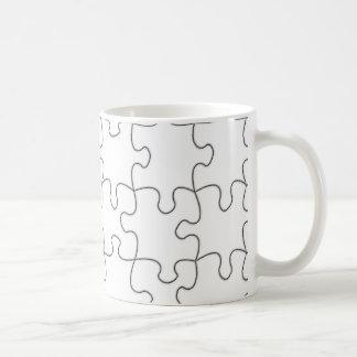 複雑なマグのテンプレート コーヒーマグカップ