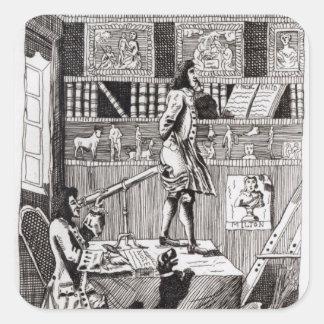 複雑なリチャードソン1724年 スクエアシール