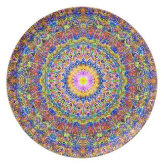 複雑な装飾用の曼荼羅 プレート