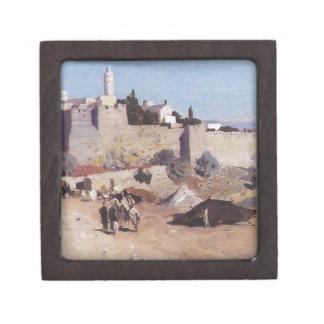 西からのエルサレム。 Jaffaのゲート ギフトボックス