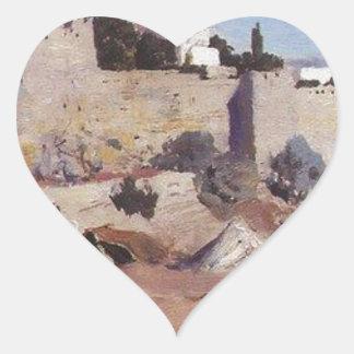 西からのエルサレム。 Jaffaのゲート ハートシール