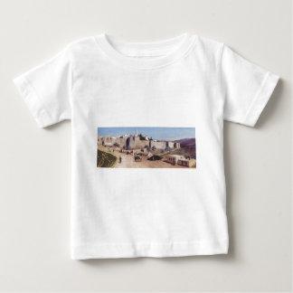 西からのエルサレム。 Jaffaのゲート ベビーTシャツ